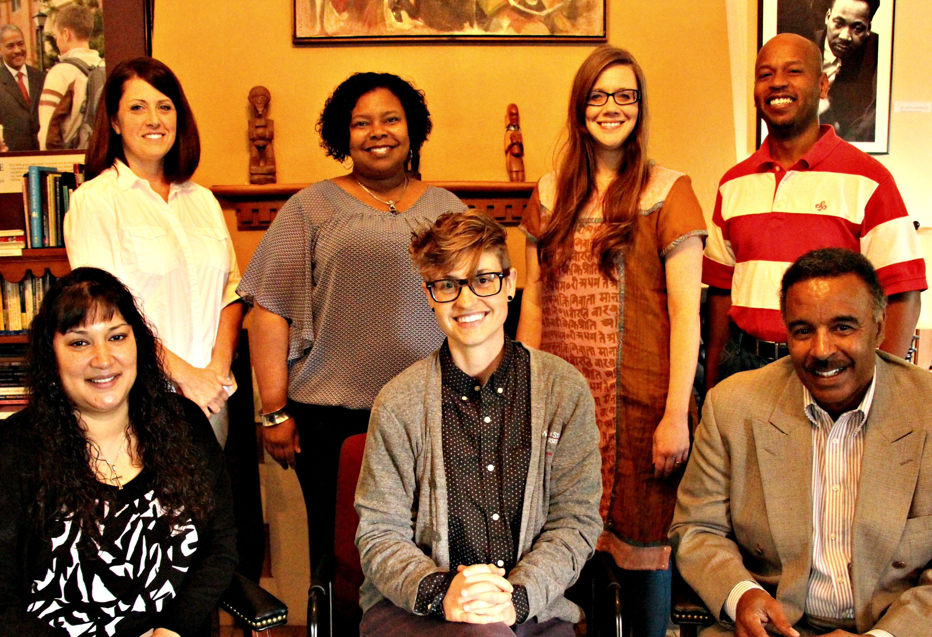 Photograph of the staff of the Office of Equity and Diversity
